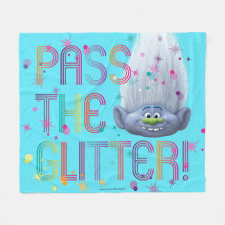 Trolls | Guy Diamond - Pass the Glitter Fleece Blanket