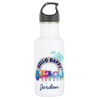 Trolls | Happy Rainbow 532 Ml Water Bottle
