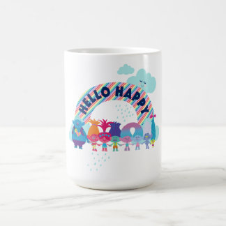 Trolls | Happy Rainbow Coffee Mug
