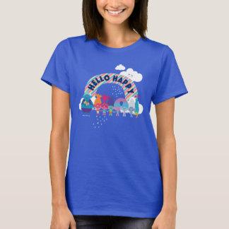 Trolls | Happy Rainbow T-Shirt