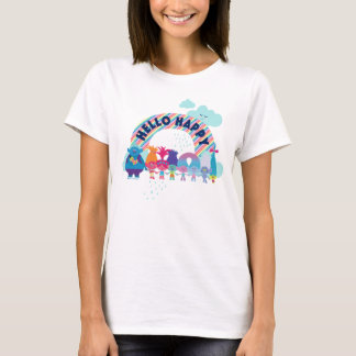 Trolls | Happy Rainbow T-Shirt