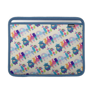 Trolls | Hug Time Pattern MacBook Sleeves