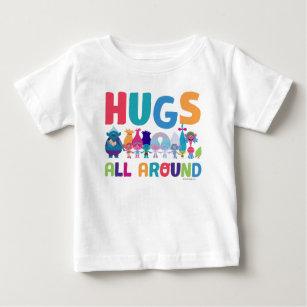 b0f0f8a78 Dreamworks Trolls Baby Tops & T-Shirts | Zazzle.co.uk
