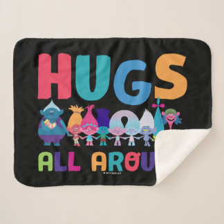 Trolls | Hugs All Around Sherpa Blanket