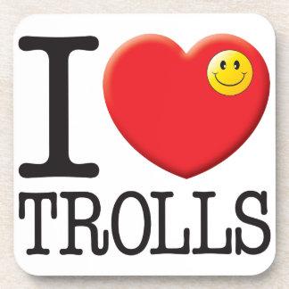 Trolls Love Beverage Coaster
