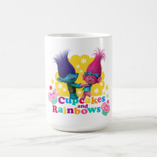 Trolls | Poppy & Branch - Cupcakes and Rainbows Coffee Mug
