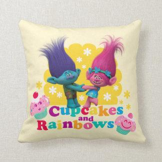 Trolls | Poppy & Branch - Cupcakes and Rainbows Cushion