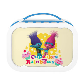 Trolls | Poppy & Branch - Cupcakes and Rainbows Lunch Box
