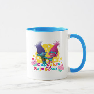 Trolls | Poppy & Branch - Cupcakes and Rainbows Mug