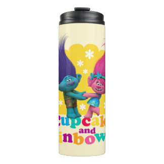 Trolls | Poppy & Branch - Cupcakes and Rainbows Thermal Tumbler