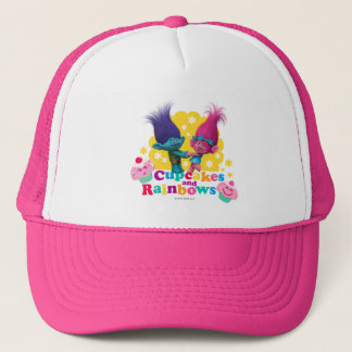 Trolls | Poppy & Branch - Cupcakes and Rainbows Trucker Hat