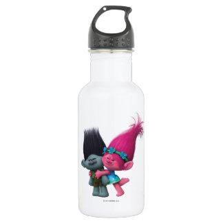 Trolls | Poppy & Branch - No Bad Vibes 532 Ml Water Bottle