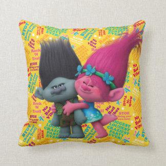 Trolls | Poppy & Branch - No Bad Vibes Cushion