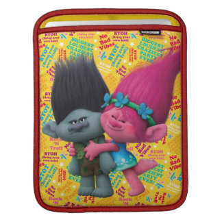 Trolls | Poppy & Branch - No Bad Vibes iPad Sleeve