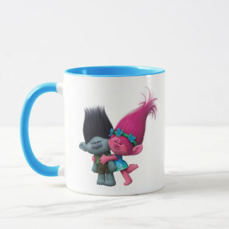 Trolls   Poppy & Branch - No Bad Vibes Mug