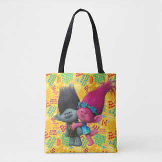 Trolls | Poppy & Branch - No Bad Vibes Tote Bag