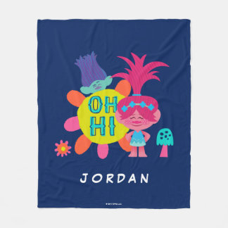 Trolls | Poppy & Branch - Oh Hi There Fleece Blanket