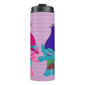Trolls | Poppy & Branch - Rock 'N Troll Thermal Tumbler