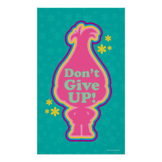 Trolls | Poppy - Don't Give Up! 2 Poster