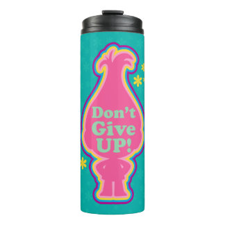 Trolls | Poppy - Don't Give Up! Thermal Tumbler
