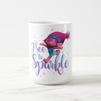 Trolls | Poppy Free to Sparkle Coffee Mug