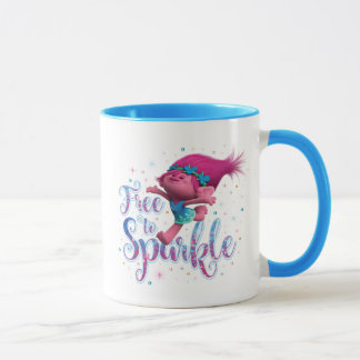 Trolls | Poppy Free to Sparkle Mug