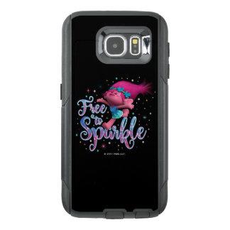 Trolls | Poppy Free to Sparkle OtterBox Samsung Galaxy S6 Case