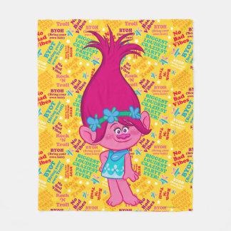 Trolls   Poppy - Hair to Stay! Fleece Blanket