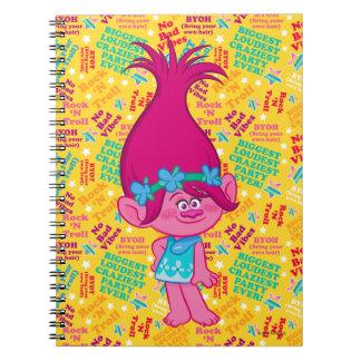 Trolls   Poppy - Hair to Stay! Notebook