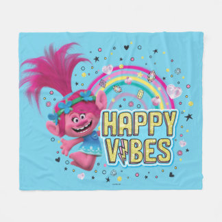 Trolls | Poppy Happy Vibes Fleece Blanket