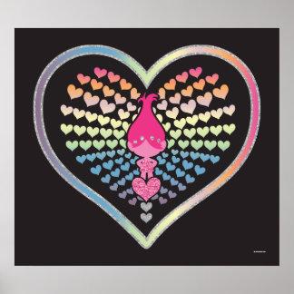 Trolls | Poppy Hearts Poster