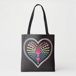 Trolls | Poppy Hearts Tote Bag