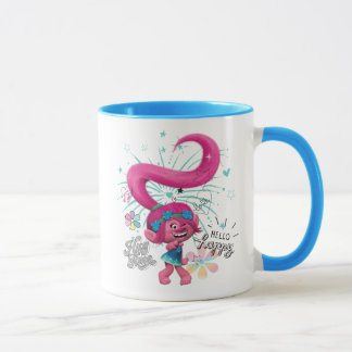 Trolls | Poppy Hello Happy Mug