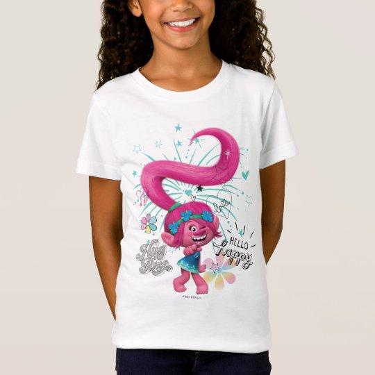 Trolls | Poppy Hello Happy T-Shirt