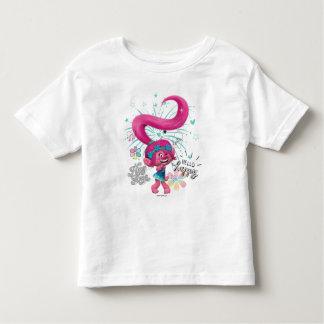Trolls | Poppy Hello Happy Toddler T-Shirt