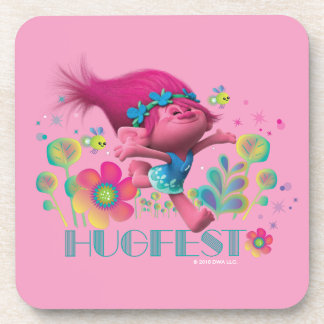 Trolls | Poppy - Hugfest Coasters