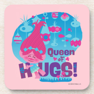Trolls | Poppy - Queen of Hugs! Beverage Coaster