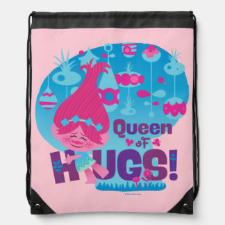 Trolls | Poppy - Queen of Hugs! Drawstring Bag