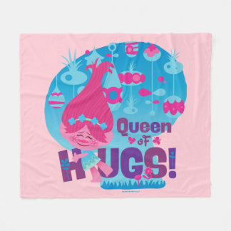 Trolls | Poppy - Queen of Hugs! Fleece Blanket