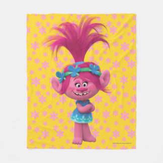 Trolls | Poppy - Queen of the Trolls Fleece Blanket