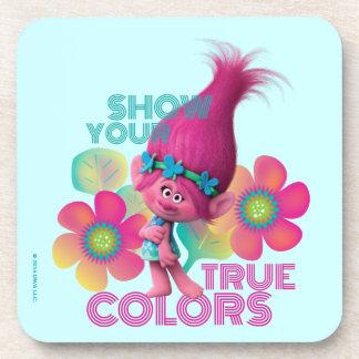 Trolls | Poppy - Show Your True Colors Coaster