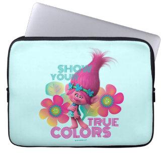 Trolls | Poppy - Show Your True Colors Laptop Sleeve