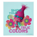 Trolls | Poppy - Show Your True Colours Poster