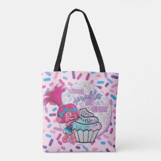 Trolls | Poppy Sprinkle your Cupcake Tote Bag