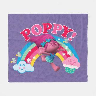 Trolls   Poppy - Yippee Fleece Blanket
