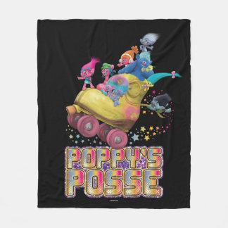 Trolls   Poppy's Posse Fleece Blanket
