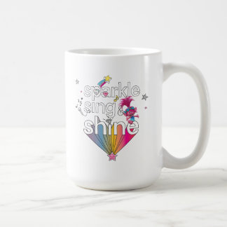 Trolls | Poppy's Sparkle Sing & Shine Coffee Mug