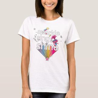 Trolls | Poppy's Sparkle Sing & Shine T-Shirt