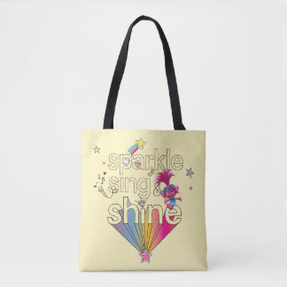 Trolls | Poppy's Sparkle Sing & Shine Tote Bag