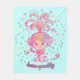 Trolls | Princess Poppy Fleece Blanket